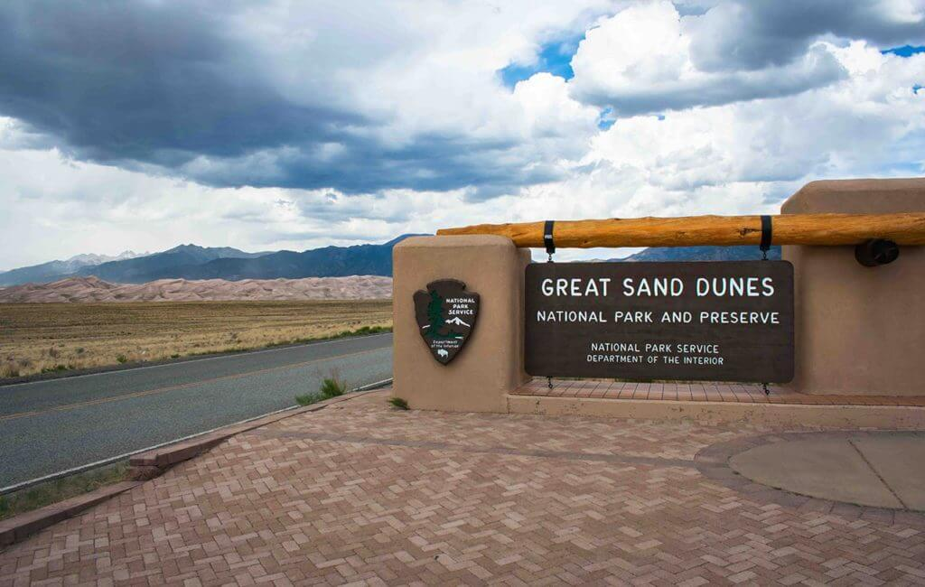 Entrance to The Great Sand Dunes • Photo by Matt Morris, @mmorrisphotography_